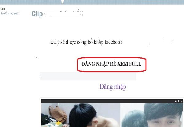 Trang Facebook giả mạo của kẻ xấu nhằm đánh cắp tài khoản