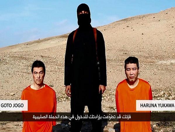 Hai con tin người Nhật Bản bị IS dọa hành quyết