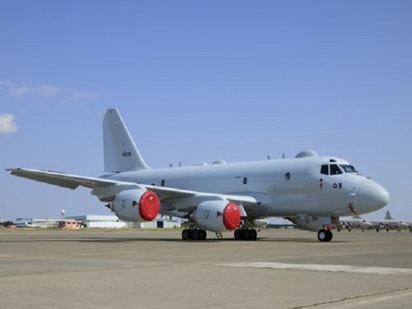 Máy bay tuần tra trên biển P-1 của Nhật Bản