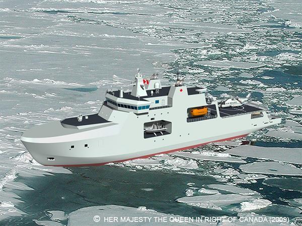 Mô hình tàu tuần tra Bắc Cực của Canada