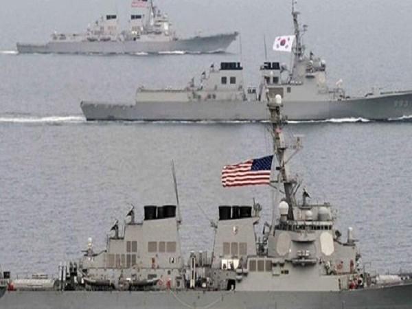 Diễn tập quân sự làm nóng tình hình bán đảo Triều Tiên! ảnh 1