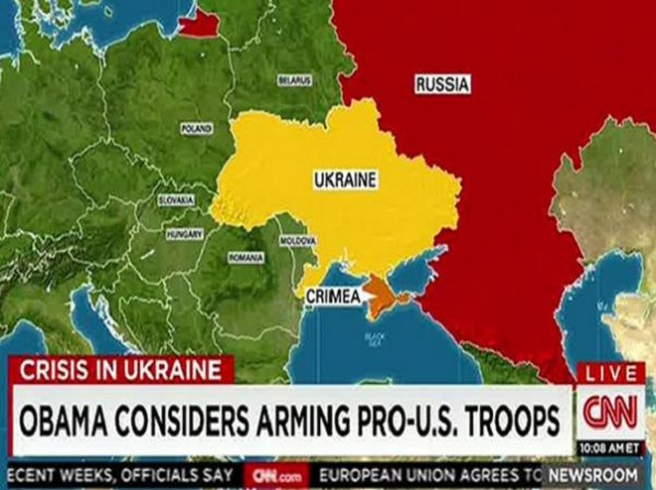 """Ảnh chụp màn hình bản tin """"gây bão"""" của CNN"""