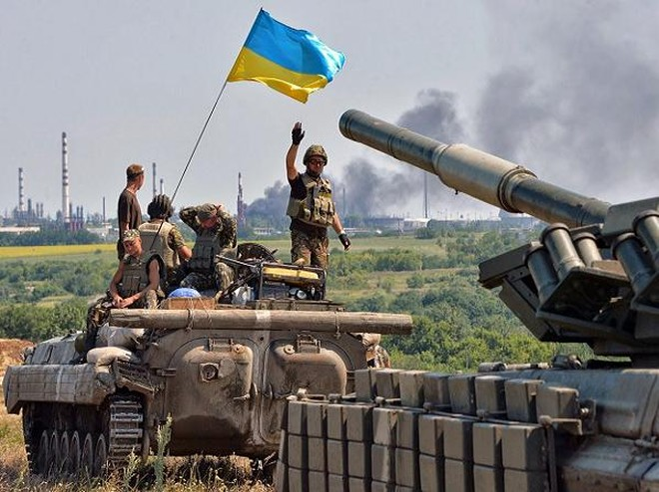 Binh lính Ukraine tham chiến tại miền đông