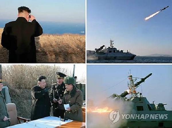 Lãnh đạo Triều Tiên Kim Jong-un liên tục thị sát các cuộc diễn tập