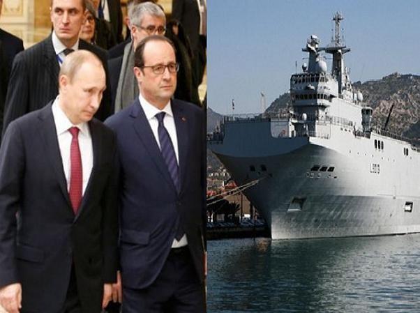 Thỏa thuận Normandy là điều kiện quan trọng để Pháp bàn giao tàu cho Nga