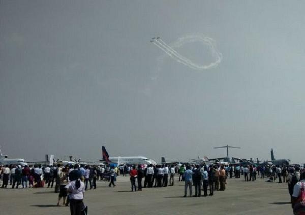 """Triển lãm hàng không """"Aero-India 2015"""" tại Ấn Độ"""
