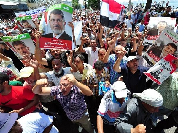 Phong trào Anh em Hồi giáo Ai Cập biểu tình ủng hộ cựu Tổng thống Mohamad Morsi