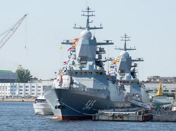 Nga tăng cường sức mạnh tối đa cho lực lượng hải quân bằng những chiến hạm hiện đại