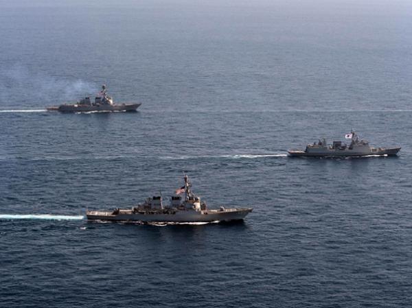 Tàu chiến Mỹ và Hàn Quốc tham gia cuộc diễn tập Foal Eagle 2013
