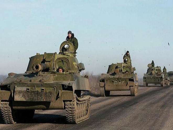 Binh lính Donetsk đang rút khỏi thành phố Debaltseve