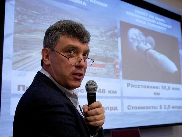 Cựu phó thủ tướng Nga Boris Nemtsov