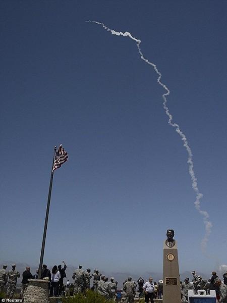 Một vụ phóng thử tên lửa của Mỹ