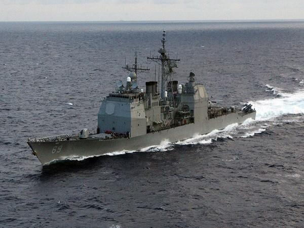 Tàu tuần dương USS Vicksburg của Mỹ