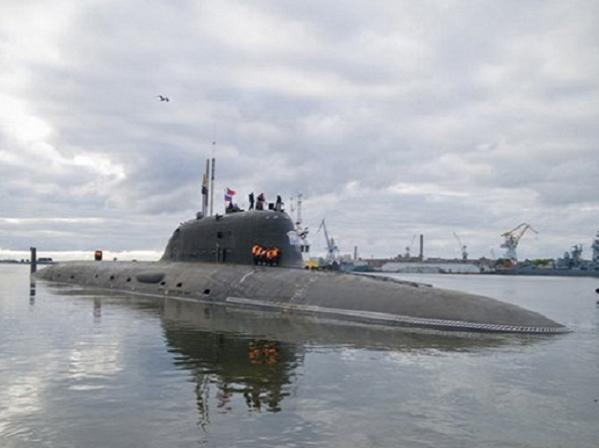 Tàu ngầm hạt nhân lớp Yasen đầu tiên mang tên Severodvinsk