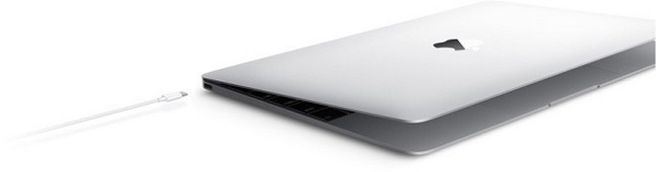Ở sườn MacBook mới có cổng kết nối USB Type-C