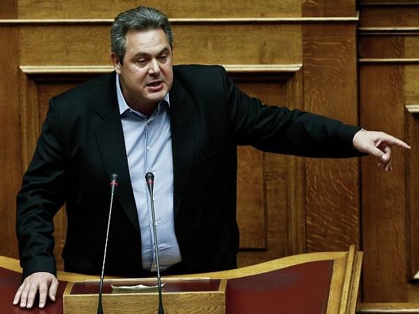 Bộ trưởng Quốc phòng Hy Lạp Panos Kammenos