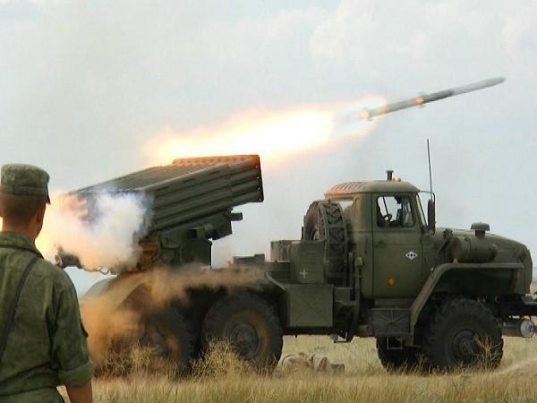 Pháo binh Nga diễn tập quy mô lớn tại các căn cứ ngoài lãnh thổ (Ảnh minh họa)