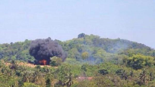 Hai máy bay Indonesia đâm nhau tại triển lãm LIMA ở Malaysia ảnh 4