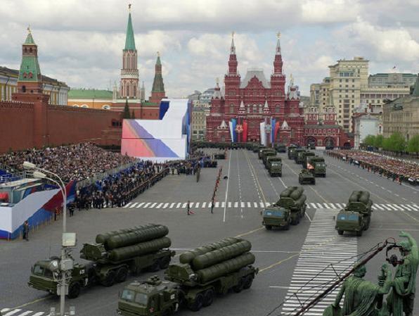 Một buổi tổng duyệt cho lễ duyệt binh tại Moscow