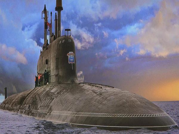 Tàu ngầm hạt nhân Severodvinsk của hải quân Nga