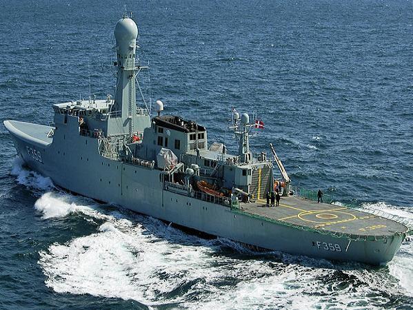 Tàu chiến Vaedderen của hải quân Đan Mạch