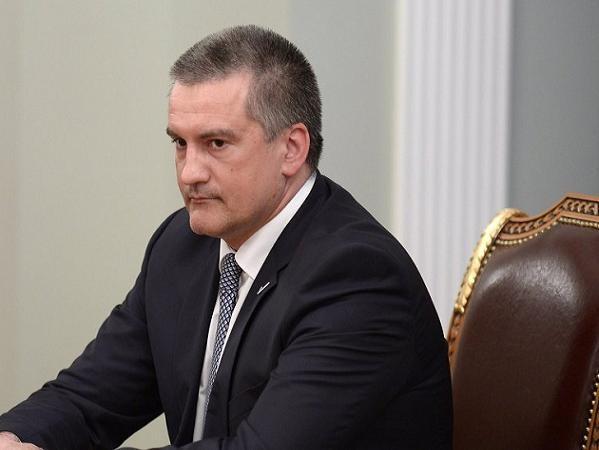Người đứng đầu chính quyền Crimea Sergei Aksenov