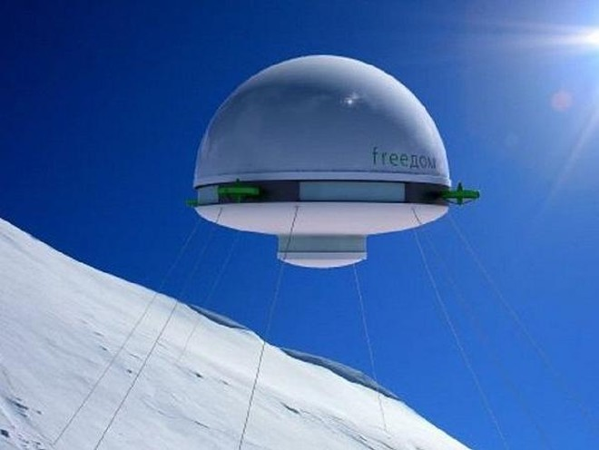 """Nhà """"tương lai"""" có thể được lắp đặt ở bất cứ đâu trên thế giới..."""