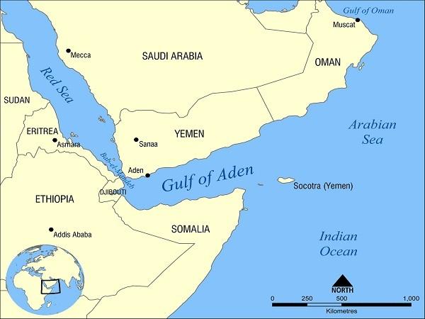 Vị trí quan trọng của thành phố cảng Aden