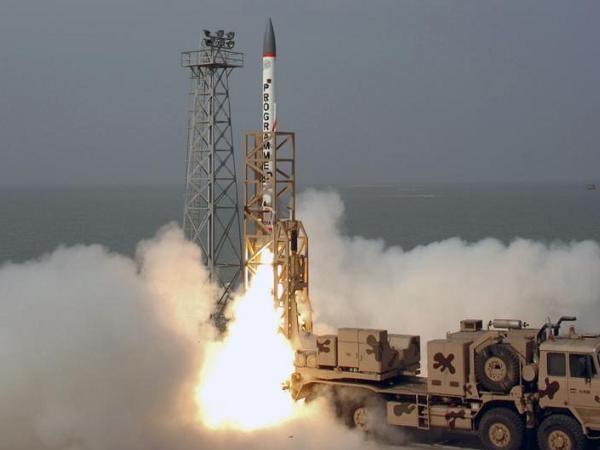 Tên lửa đánh chặn ADD của Ấn Độ được phóng thử tại đảo Wheeler