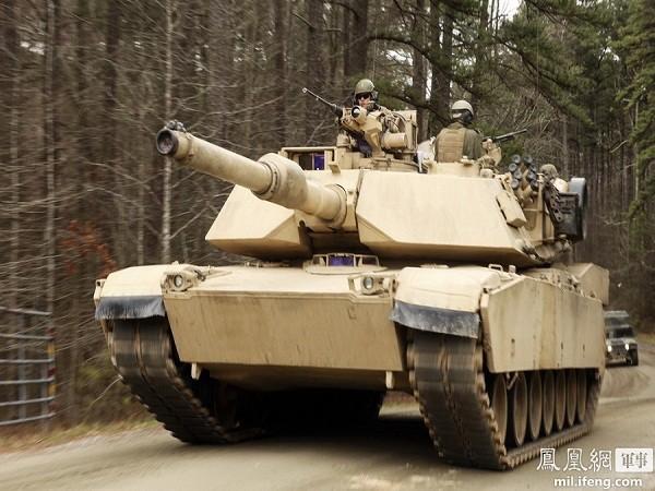Cận cảnh siêu tăng M1-A1 Abrams huấn luyện bắn đạn phá giáp ảnh 1