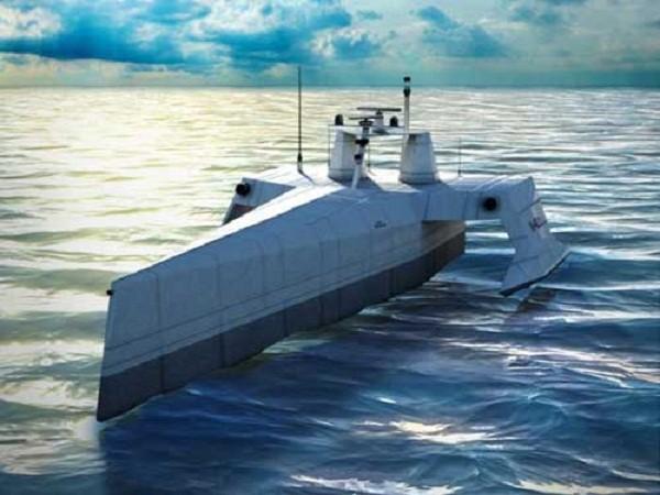 Bất an với tàu ngầm Nga và Trung Quốc, Mỹ triển khai tàu tuần tra chống ngầm không người lái ảnh 1