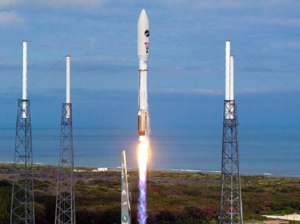 Một vụ phóng thành công tên lửa đẩy Atlas V của ULA