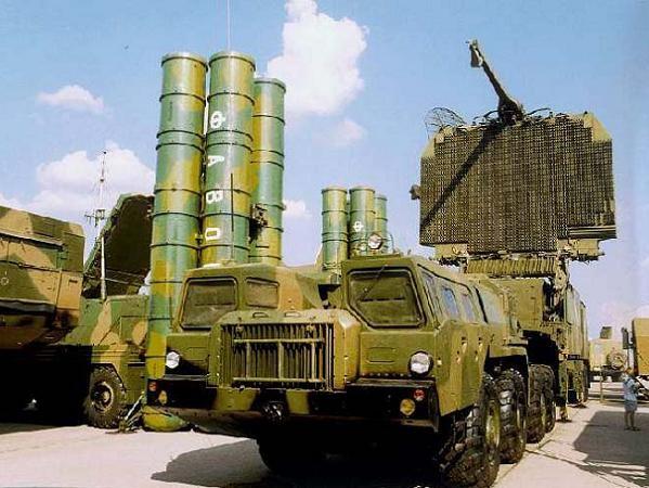 Hệ thống tên lửa phòng không S-300 của Iran