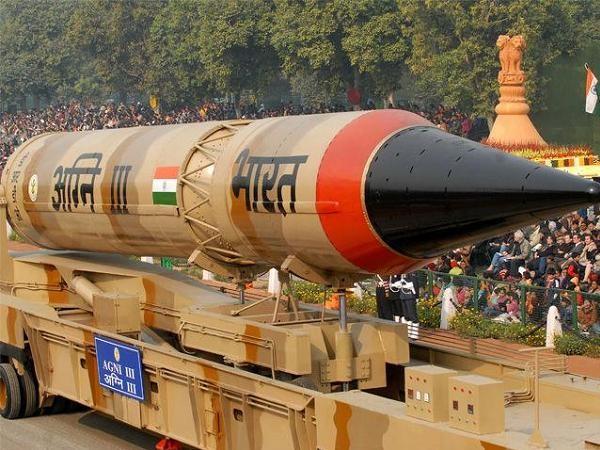 Tên lửa đạn đạo Agni-III của Ấn Độ