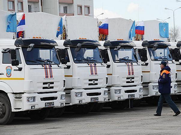 Mặc dù quan hệ căng thẳng nhưng Nga vẫn bán khí đốt giá rẻ cho Kiev và viện trợ nhân đạo cho Donbass