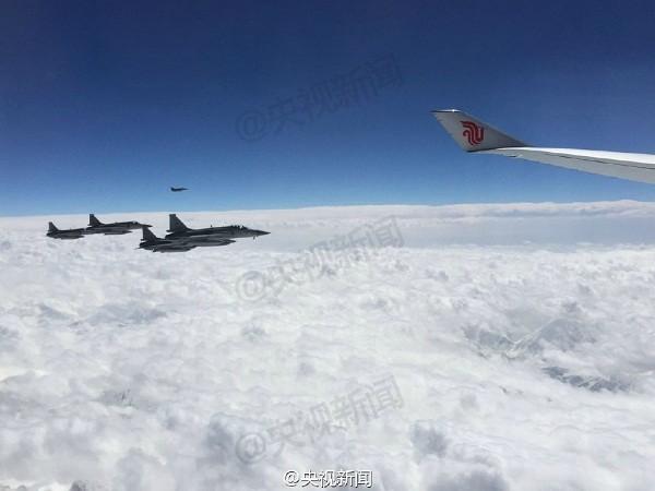 Pakistan tung chiến đấu cơ bảo vệ Chủ tịch Trung Quốc Tập Cận Bình ảnh 1