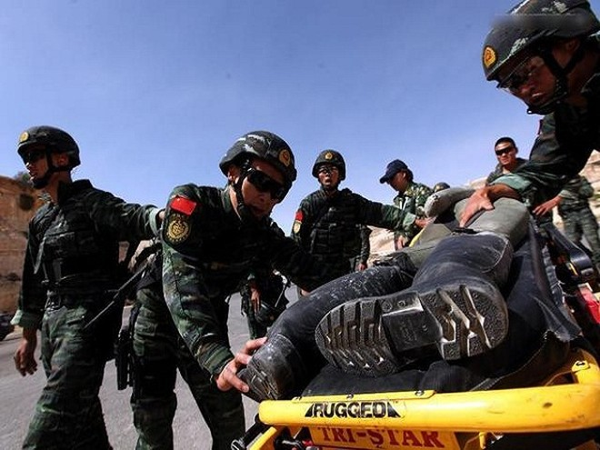 Lực lượng đặc nhiệm 18 quốc gia tranh tài tại Jordan ảnh 1