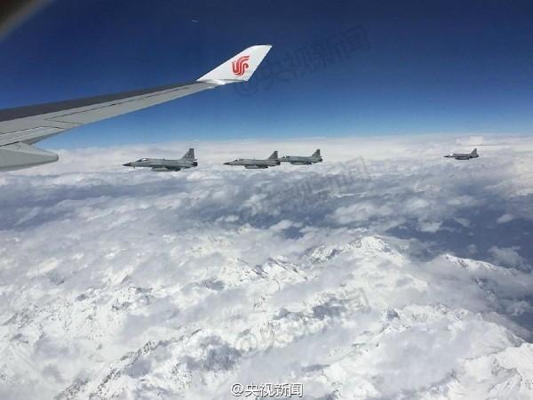 Pakistan tung chiến đấu cơ bảo vệ Chủ tịch Trung Quốc Tập Cận Bình