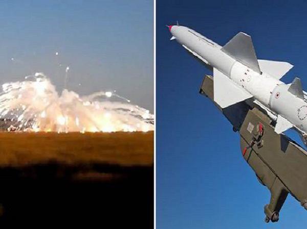Hình ảnh vụ nổ và tên lửa chiến thuật OTR-21 Tochka