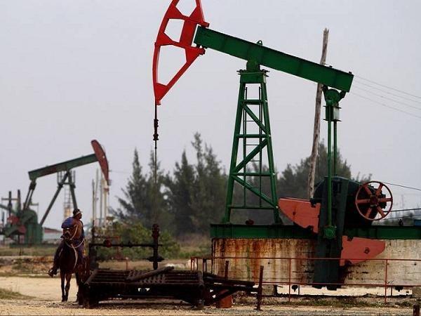 Một mỏ dầu đang được khai thác tại Cuba