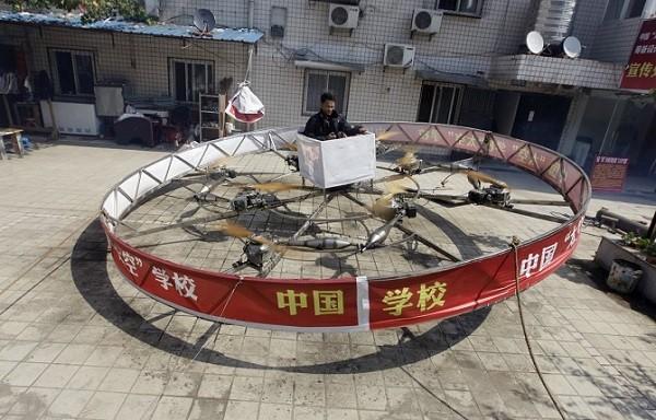 Trực thăng, tàu ngầm, siêu xe phong cách Trung Quốc ảnh 8