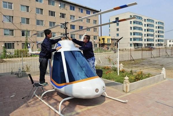 Trực thăng, tàu ngầm, siêu xe phong cách Trung Quốc ảnh 5