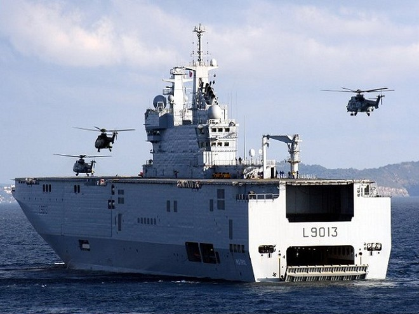 Hải quân Pháp vừa từ chối sử dụng 2 tàu Mistral bởi họ đã có 3 chiếc