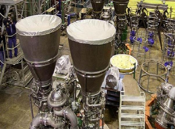 Cận cảnh xưởng sản xuất động cơ tên lửa đẩy RD-180 của Energomash/Nga