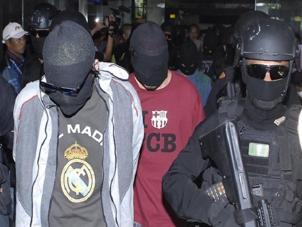 Cảnh sát chống khủng bố Indonesia bắt một nhóm nghi can tại Jakarta trong năm 2014
