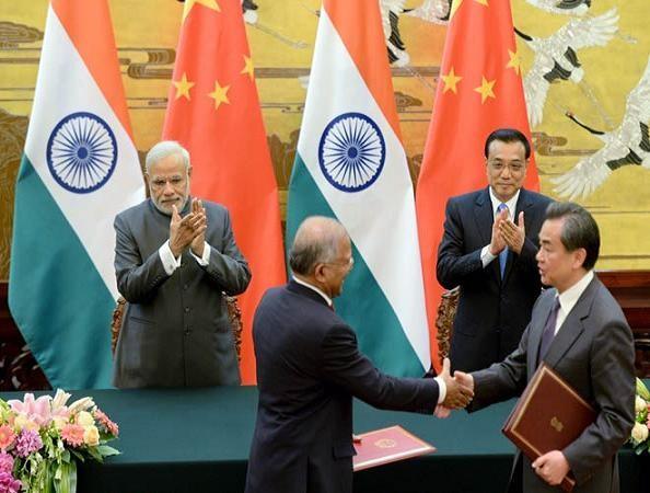 Trung-Ấn ký hiệp định thương mại song phương 10 tỷ USD ảnh 1