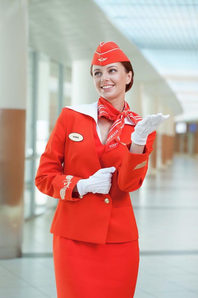 Những bộ váy đồng phục của các nữ tiếp viên hãng hàng không Aeroflot Nga được coi là một trong những bộ đồng phục phong cách và thời trang nhất trên thế giới.