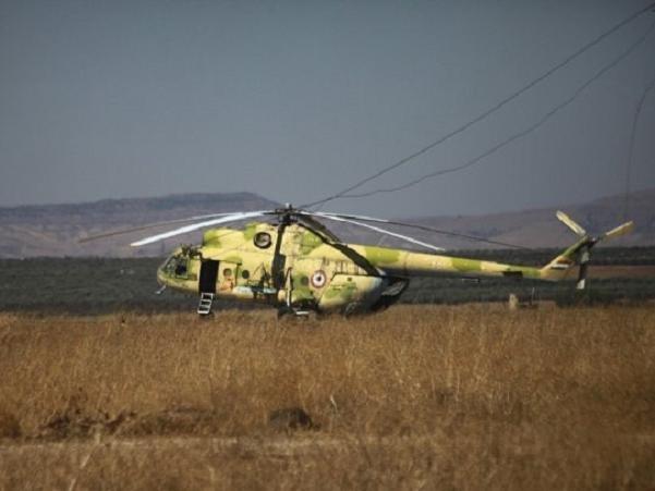 Một chiếc trực thăng của quân đội Syria (Ảnh minh họa)