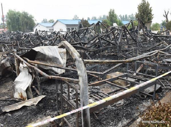 Cháy nhà dưỡng lão tại Trung Quốc làm 38 người thiệt mạng ảnh 1