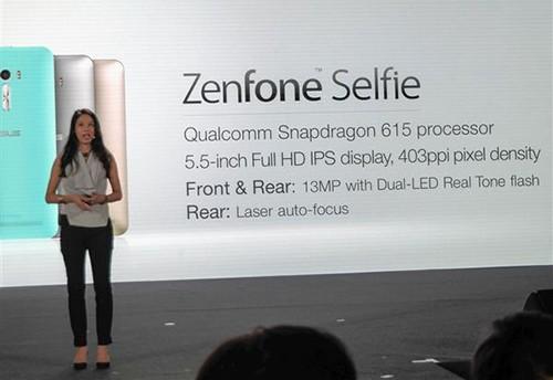 Asus Zenfone Selfie có camera trước 13MP ảnh 3